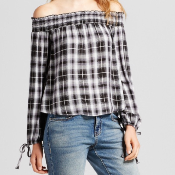 4f5fa87e1c36b9 Mossimo Supply Co Tops | Target Paid Off The Shoulder Top | Poshmark